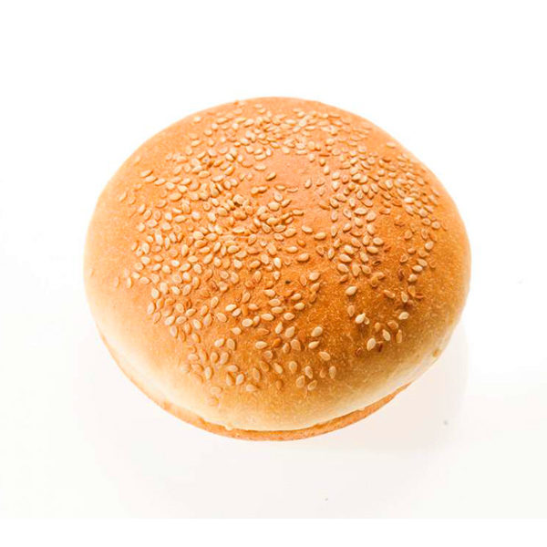 Булочка для гамбургера 125 мм с кунжутом