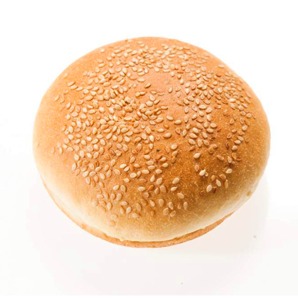 Булочка для гамбургера 100 мм с кунжутом