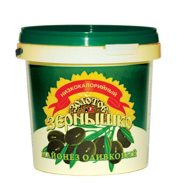 Майонезный соус Золотое зернышко оливковый легкий 900 мл